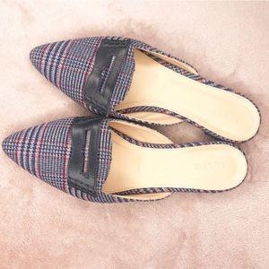 J. Crew Plaid Shoes